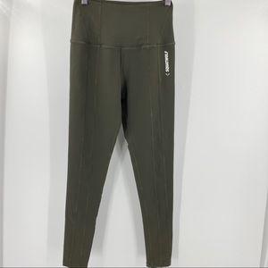 Squat Wolf olive green high rise leggings